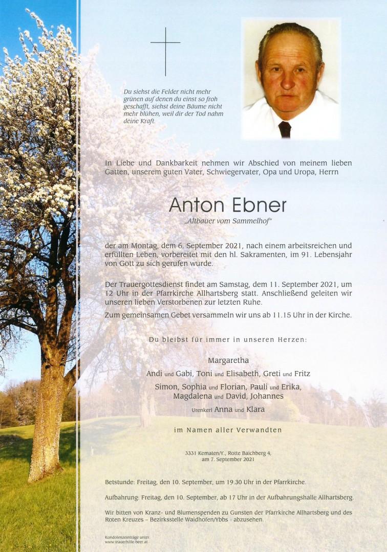 Parte Anton Ebner