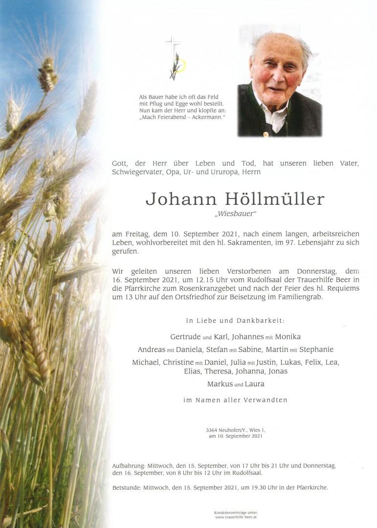 Parte Johann Höllmüller