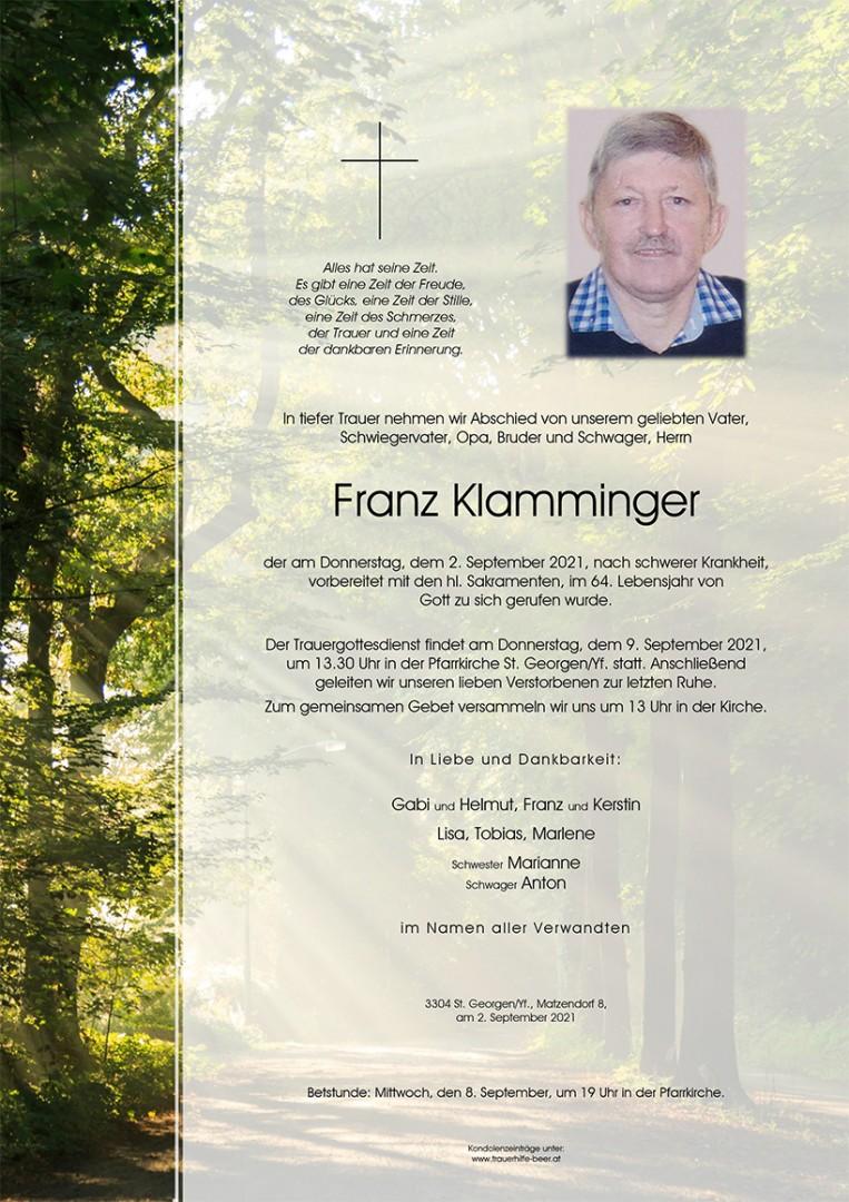 Parte Franz Klamminger