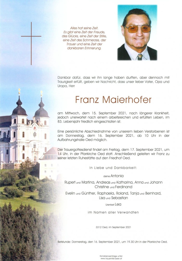 Parte Franz Maierhofer