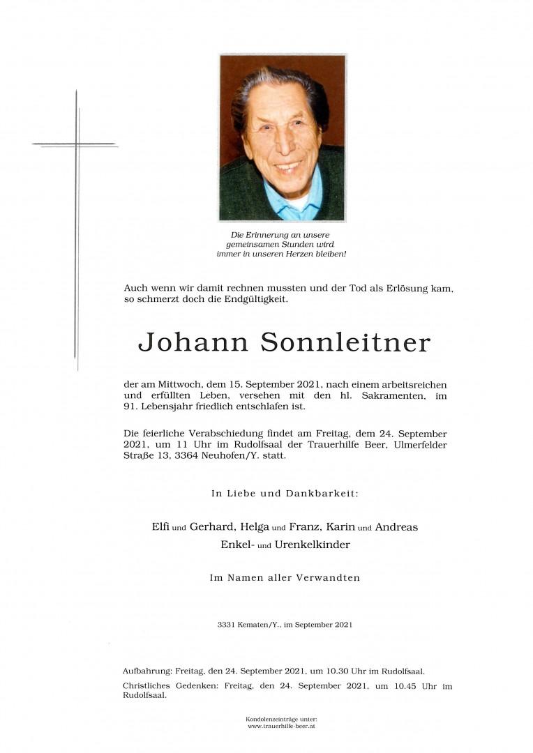 Parte Johann Sonnleitner