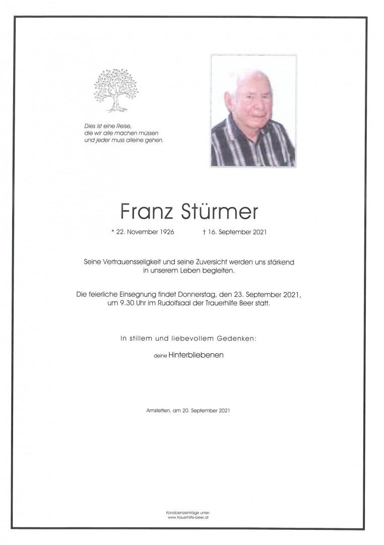 Parte Franz Stürmer