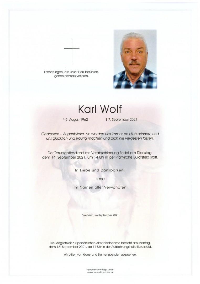 Parte Karl Wolf