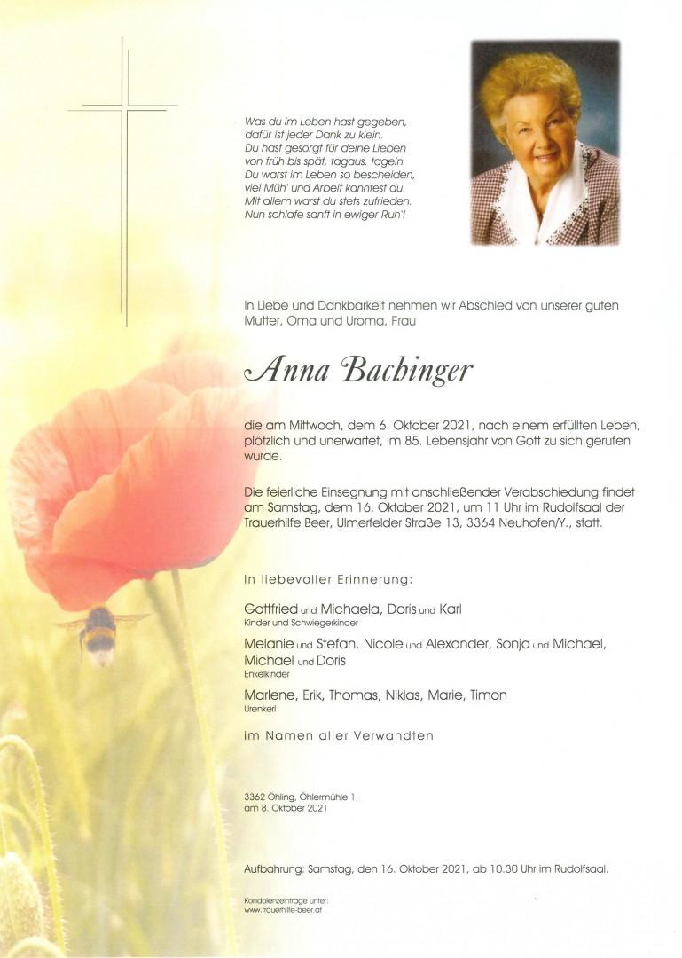 Parte Anna Bachinger
