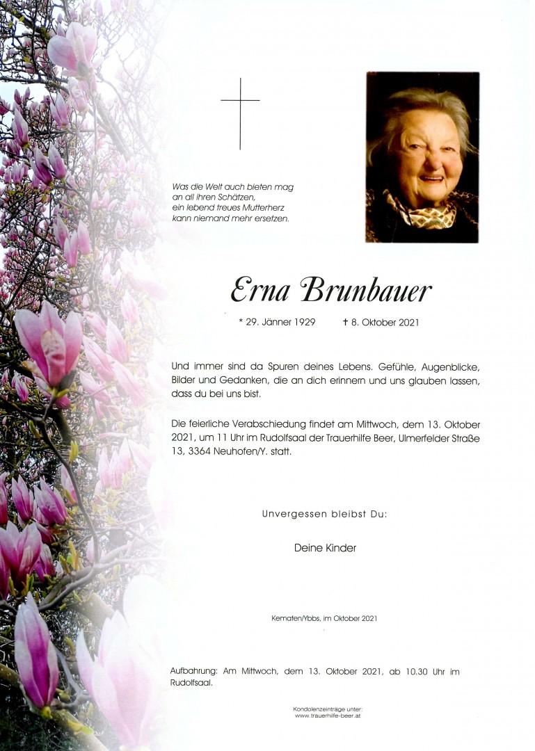 Parte Erna Brunbauer