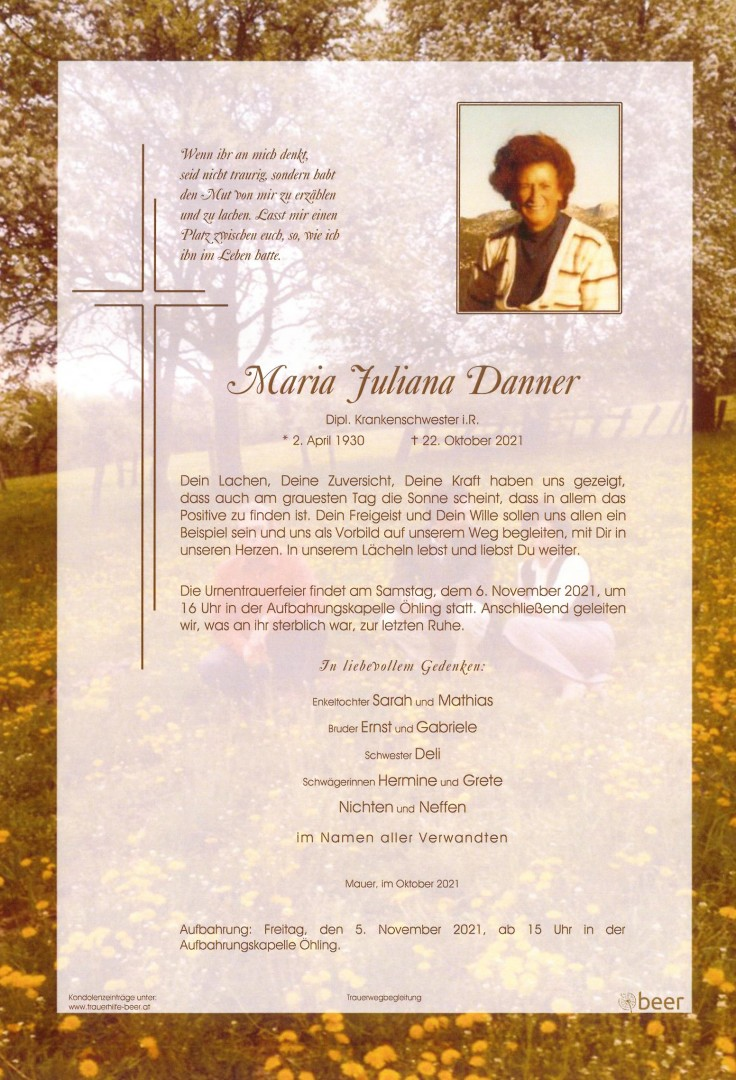 Parte Maria Juliana Danner