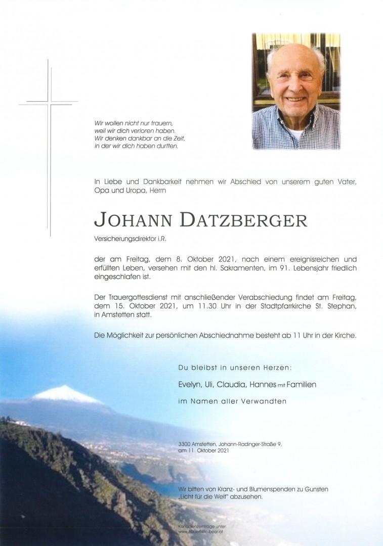 Parte Johann Datzberger