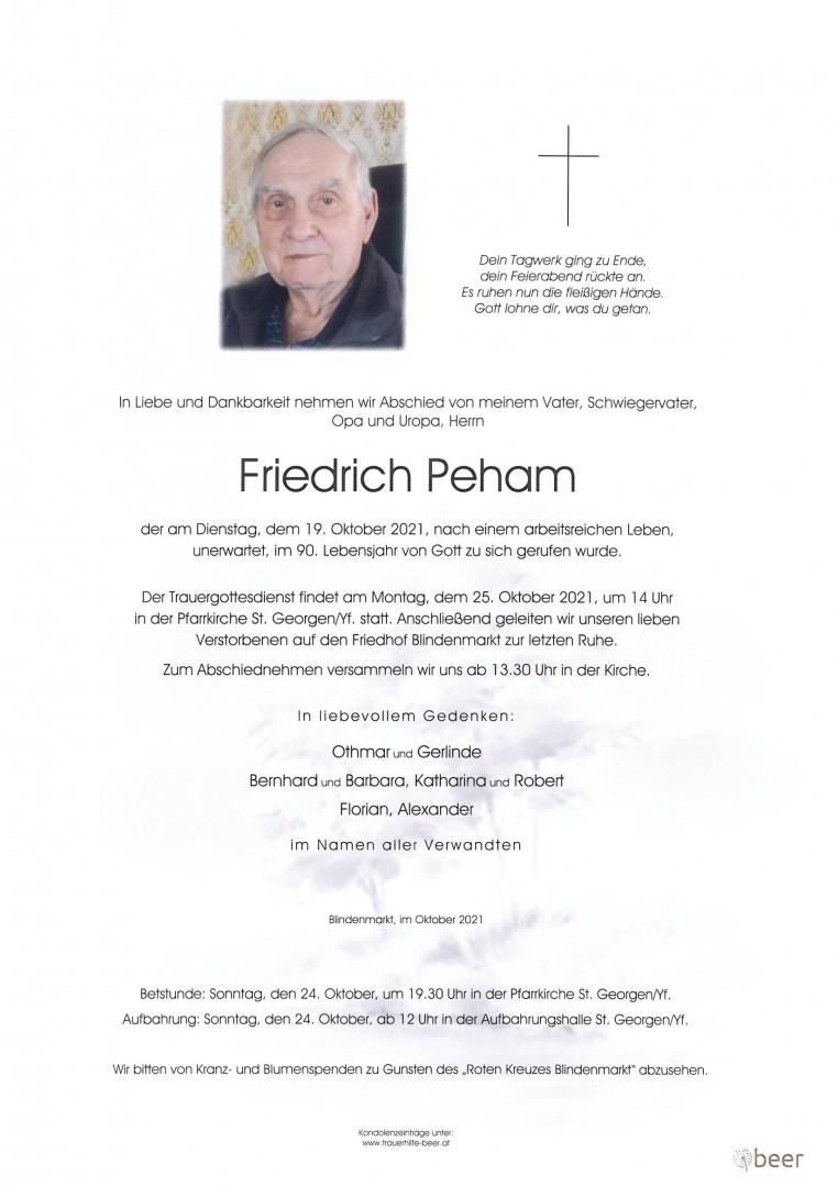 Parte Friedrich Peham