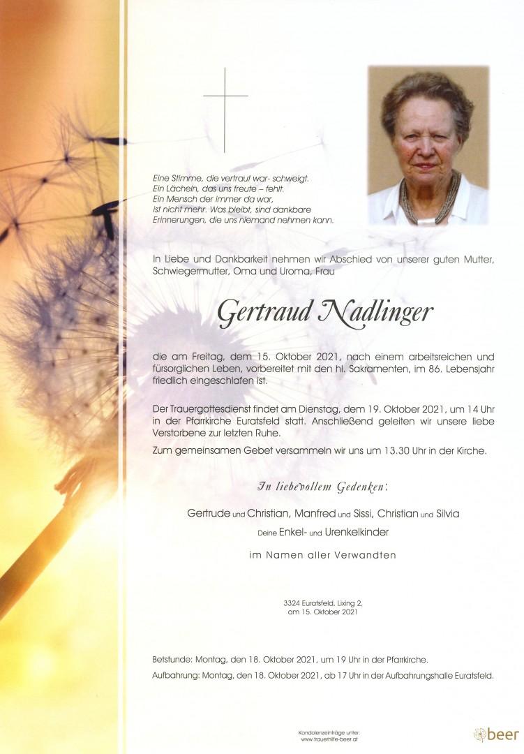 Parte Gertraud Nadlinger