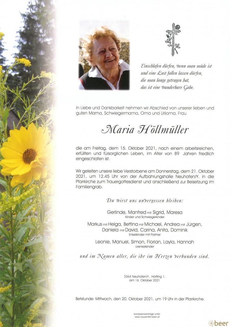 Parte Maria Höllmüller