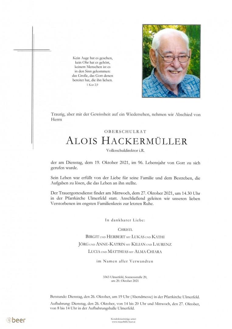 Parte OSR Alois Hackermüller