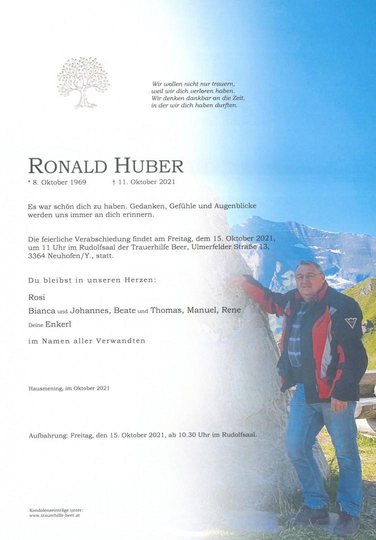 Parte Ronald Huber