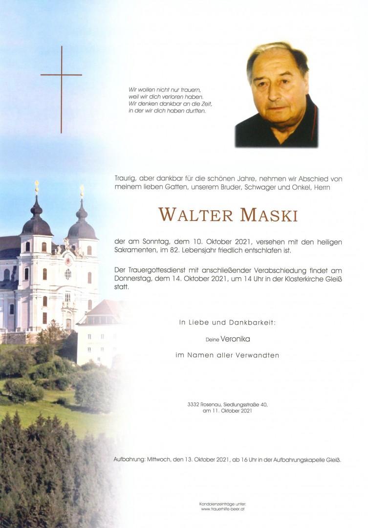 Parte Walter Maski