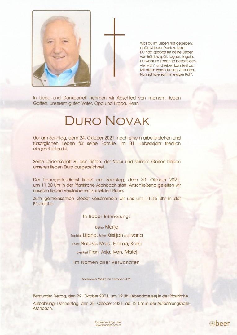 Parte Duro Novak