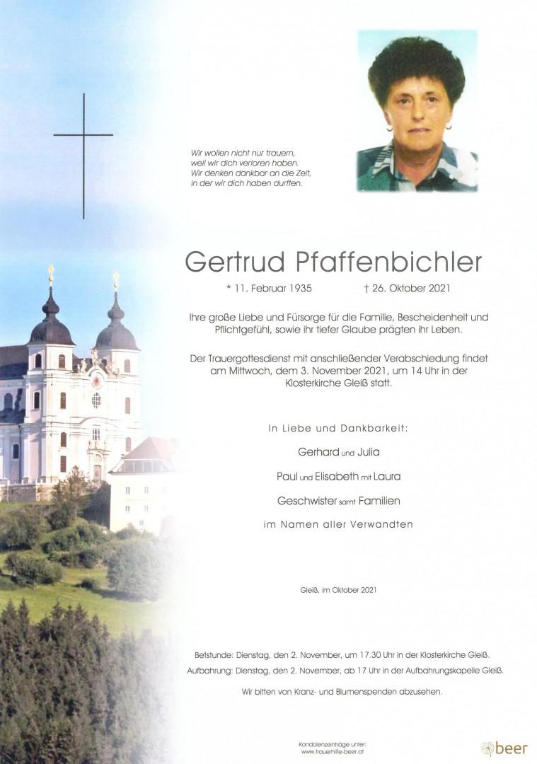 Parte Gertrud Pfaffenbichler