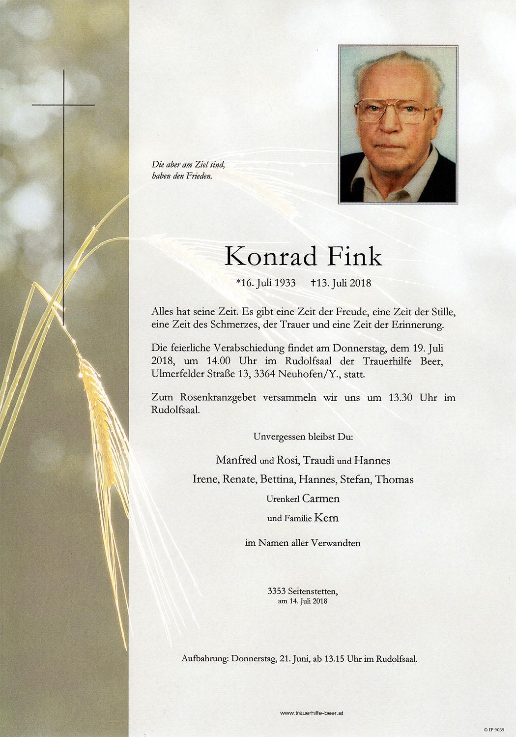 Parte Konrad Fink