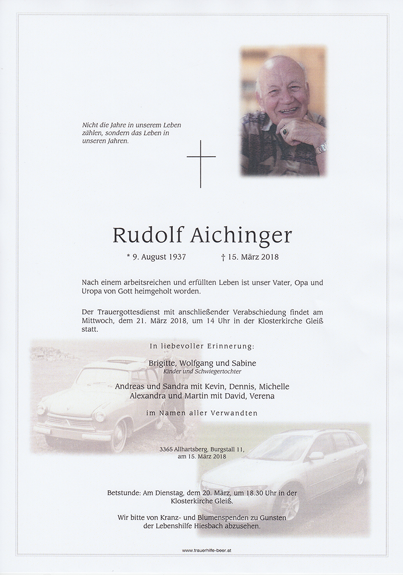 Rudolf Aichinger