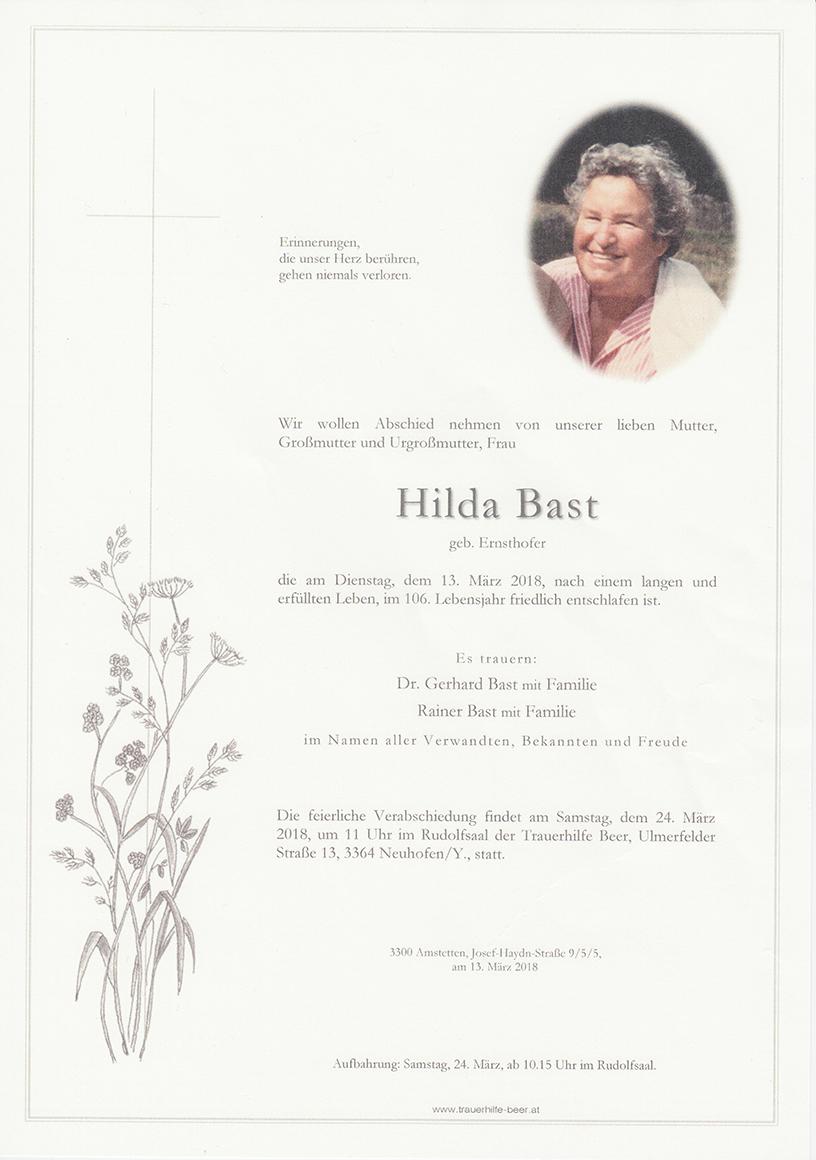 Hilda Bast