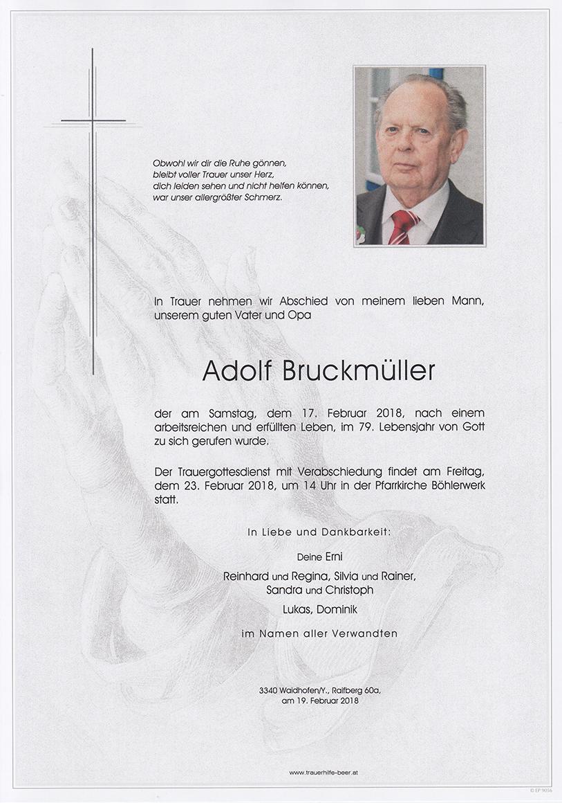 Adolf Bruckmüller