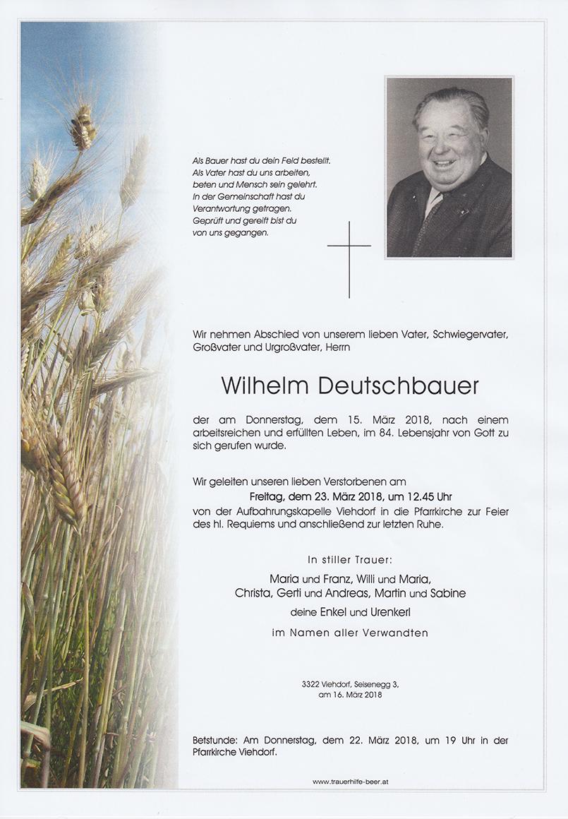 Wilhelm Deutschbauer