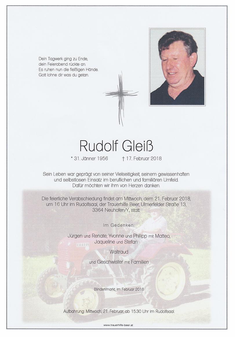 Rudolf Gleiß