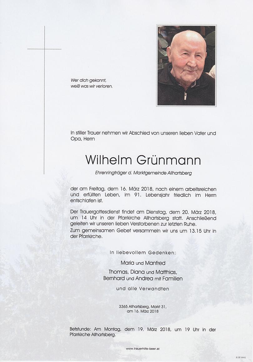 Wilhelm Grünmann