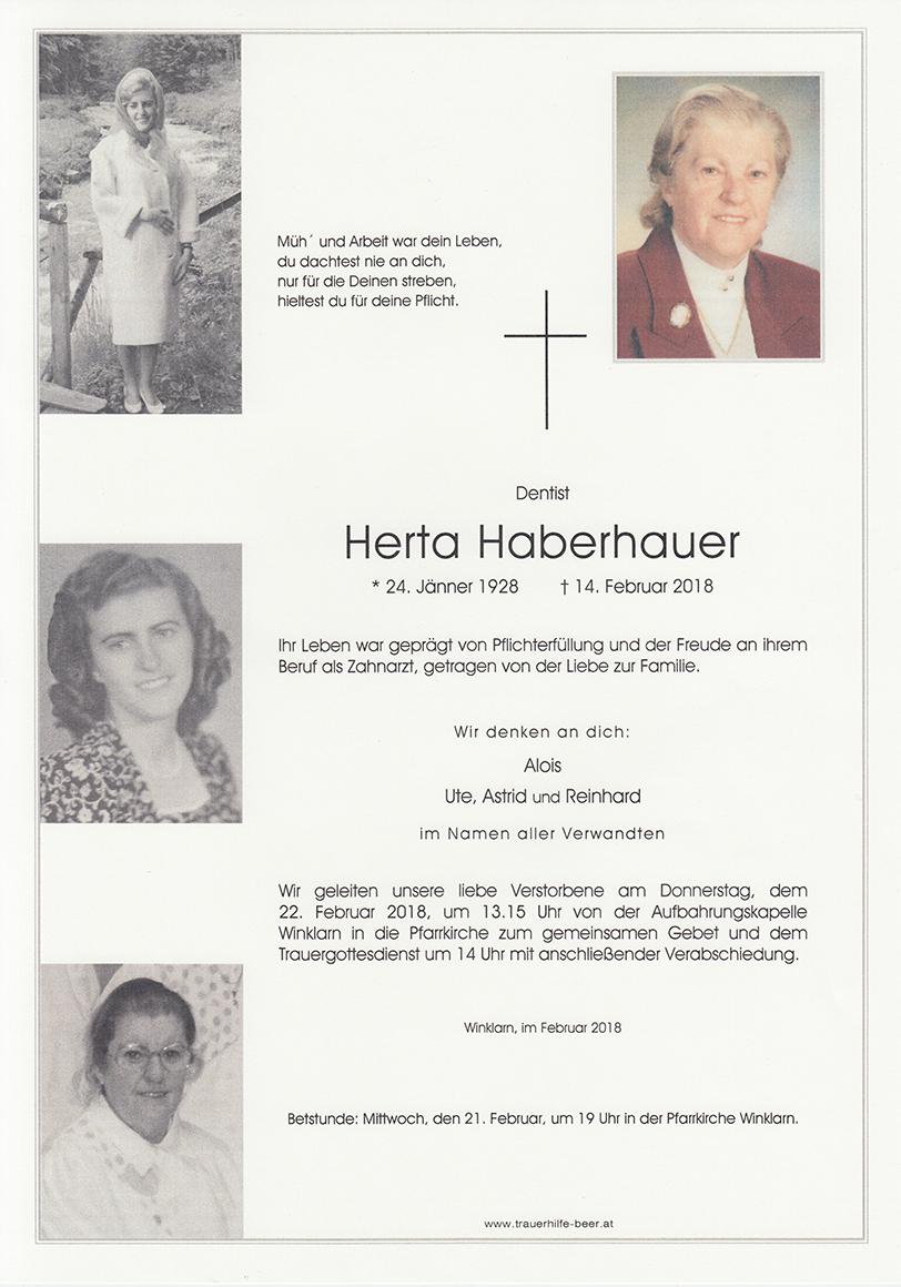 Herta Haberhauer