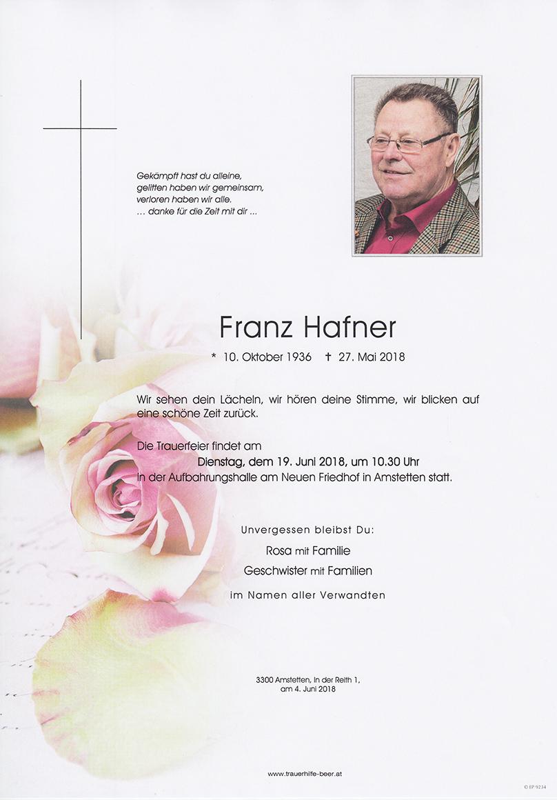 Franz Hafner