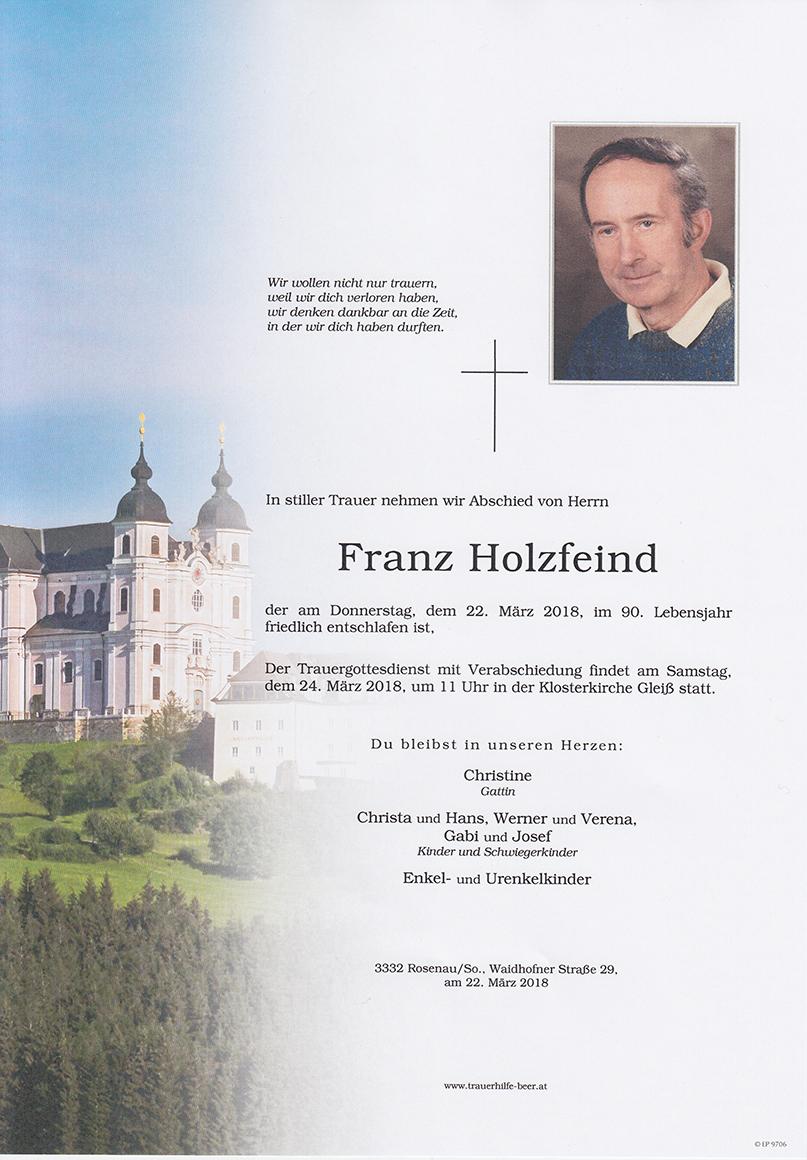 Franz Holzfeind