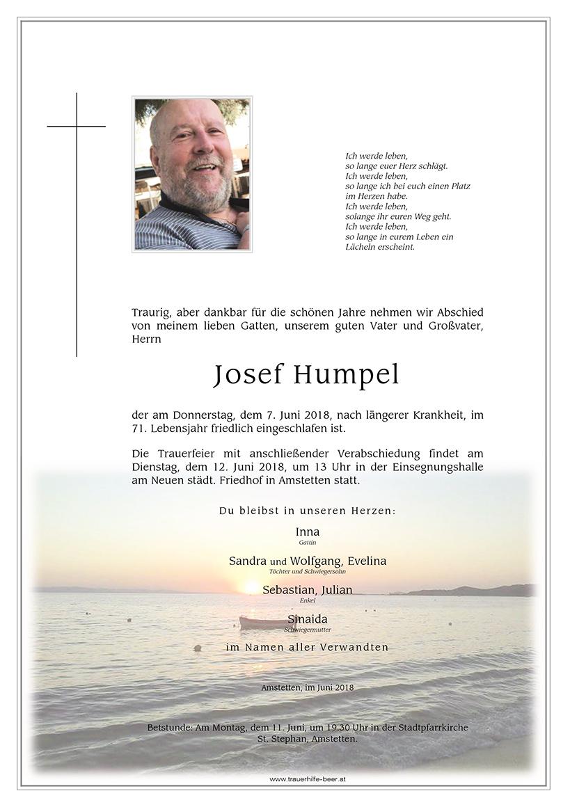 Josef Humpel