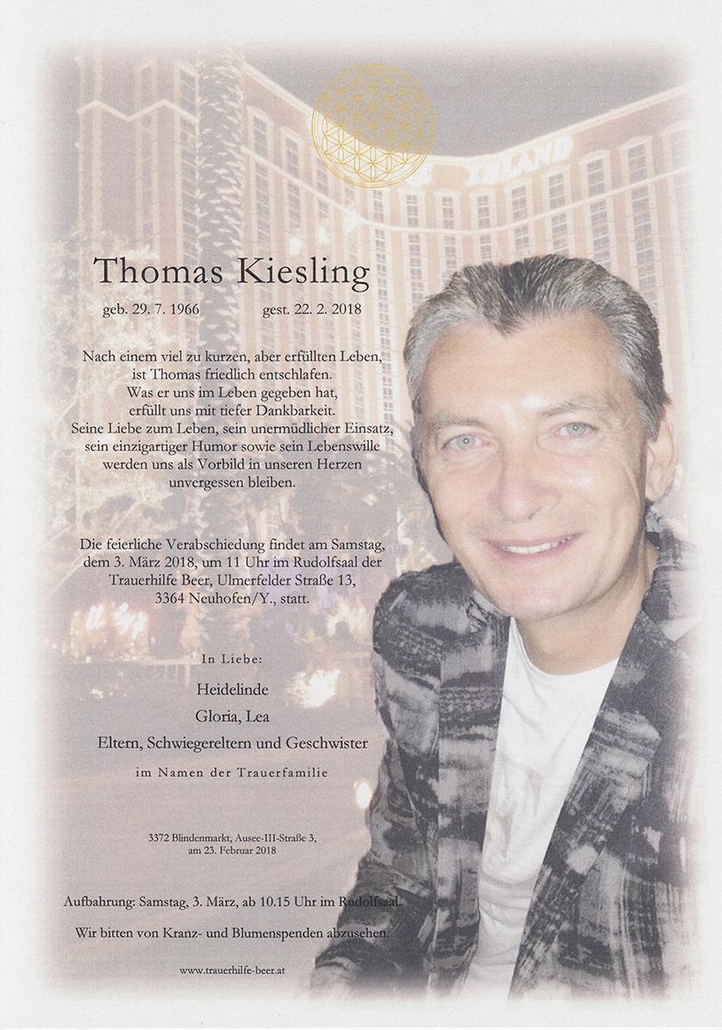 Thomas Kiesling