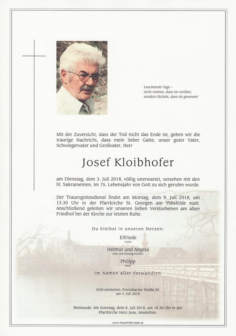 Josef Kloibhofer