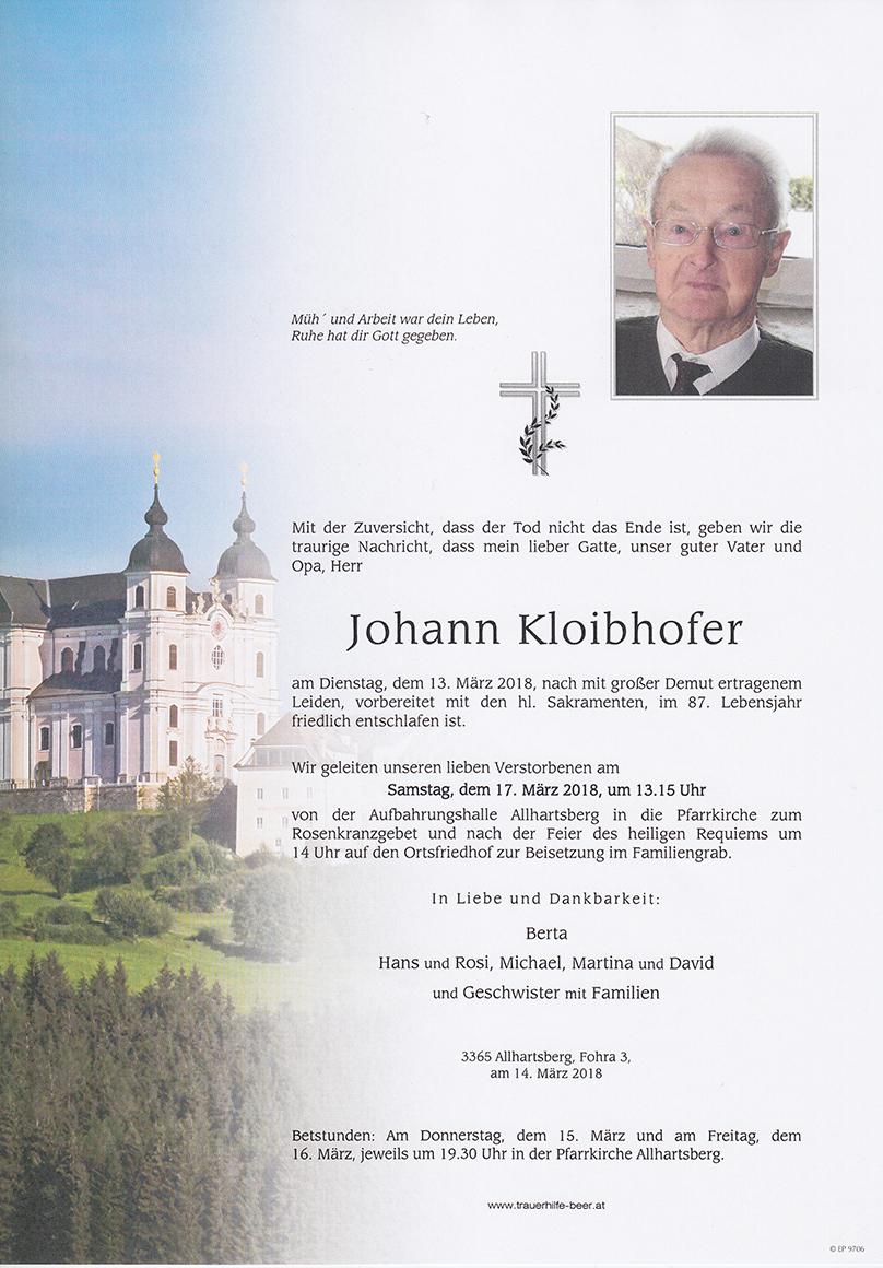 Johann Kloibhofer