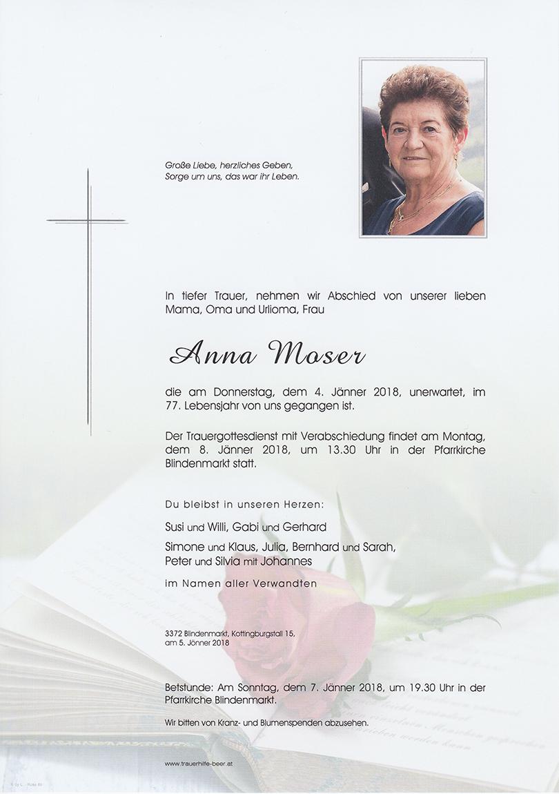 Anna Moser