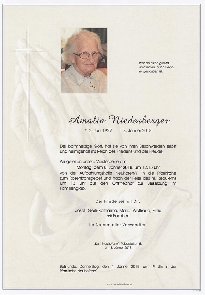 Amalia Niederberger