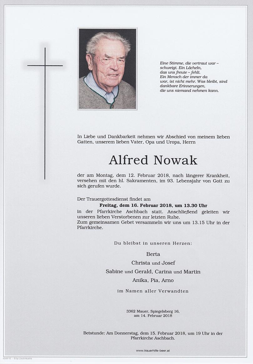 Alfred Nowak