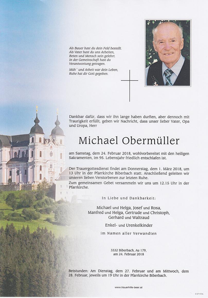 Michael Obermüller