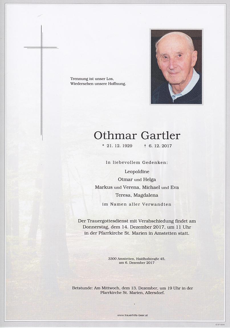 Othmar Gartler