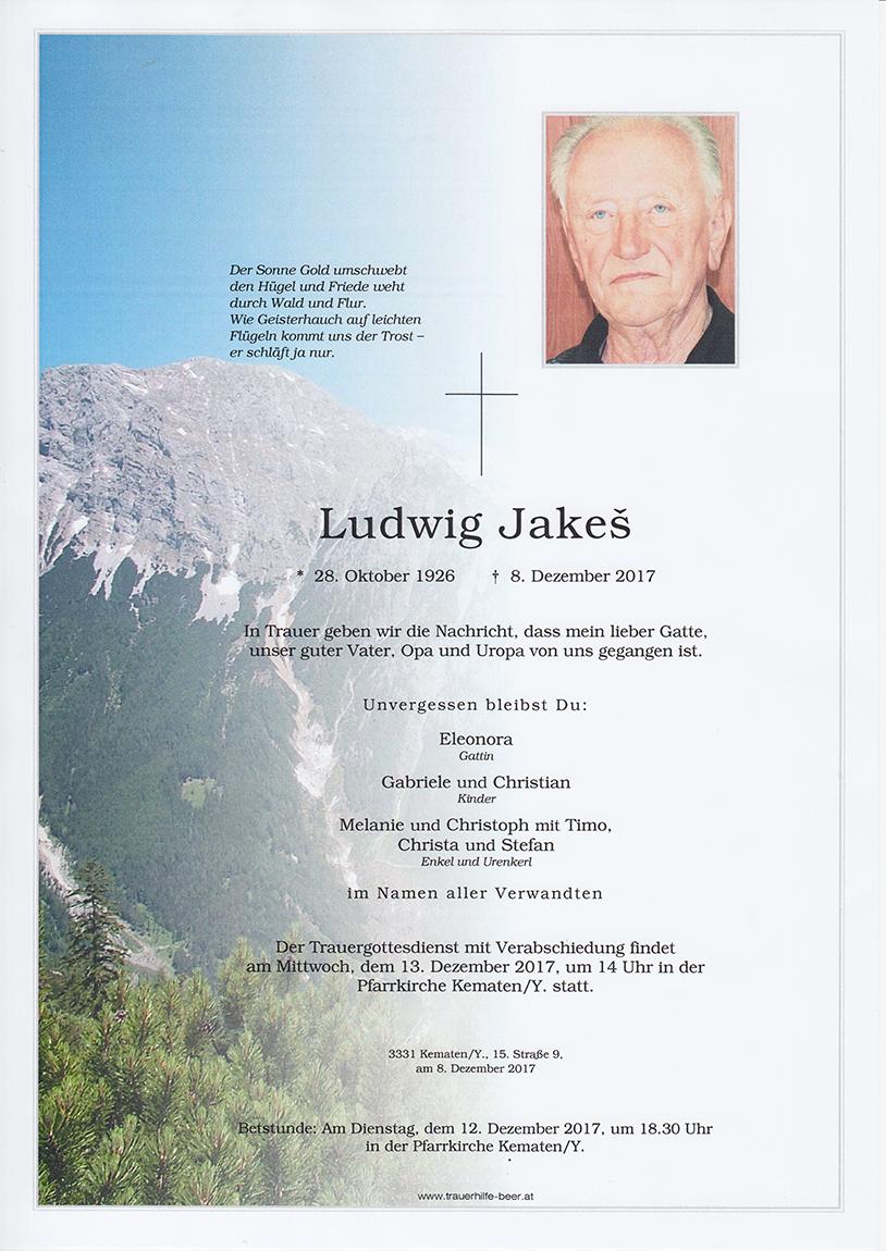 Ludwig Jakeš