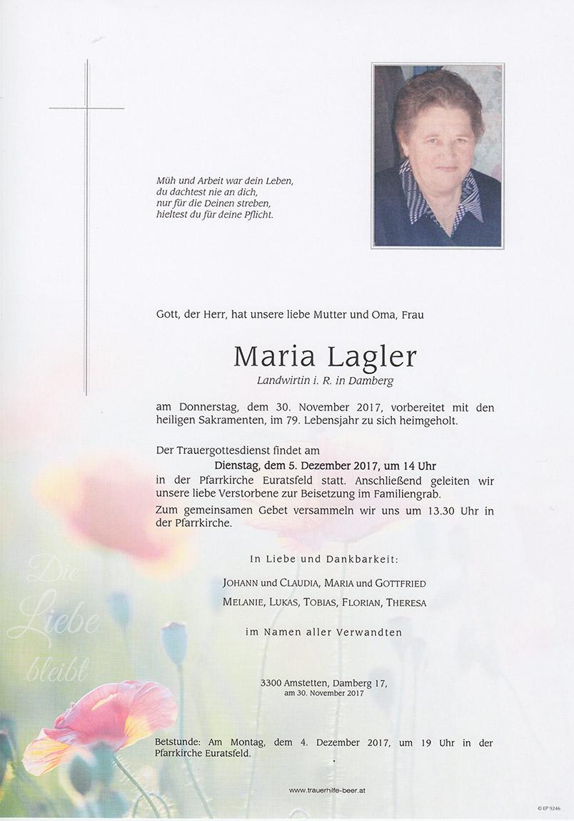 Maria Lagler