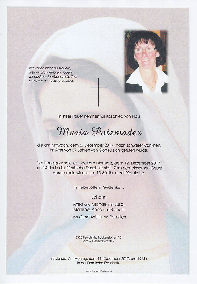 Maria Potzmader
