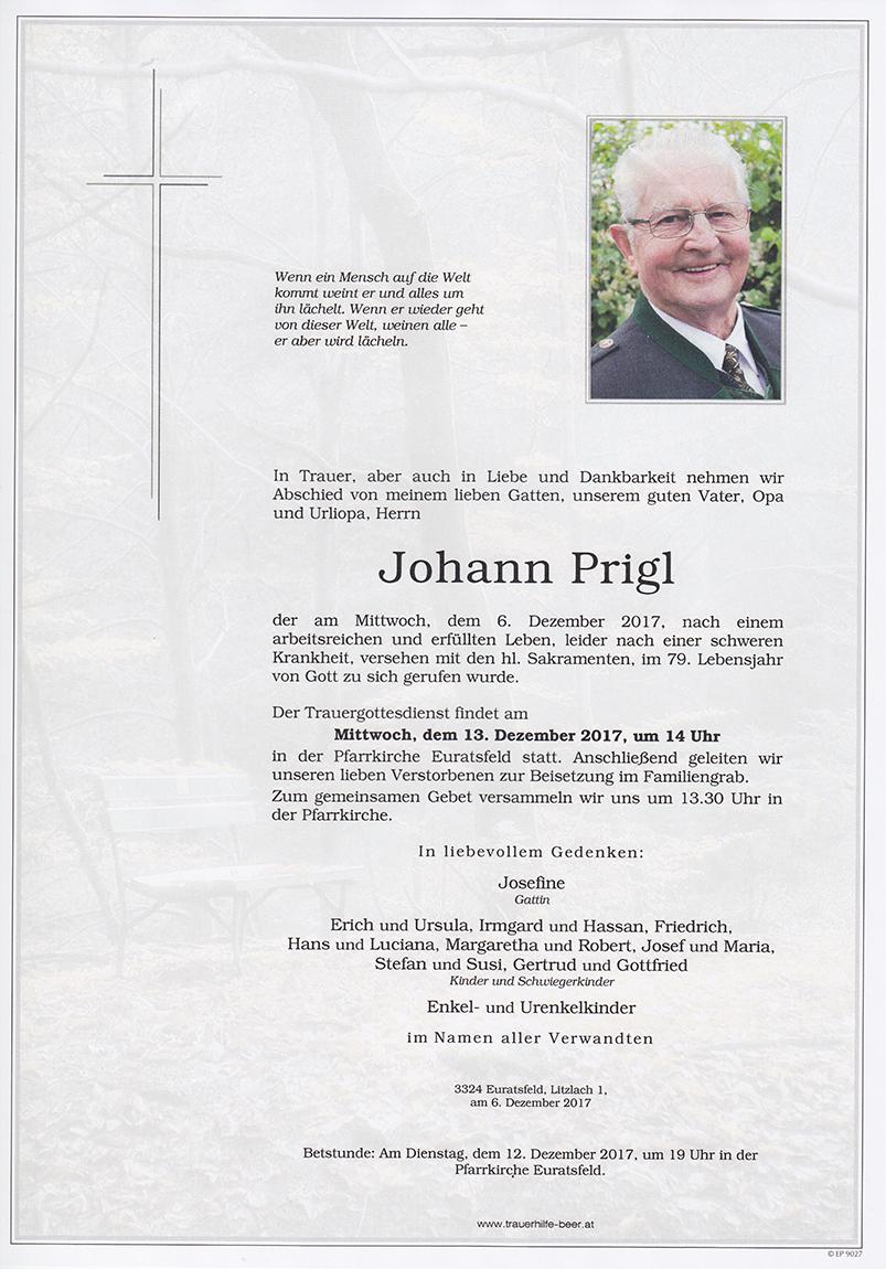 Johann Prigl