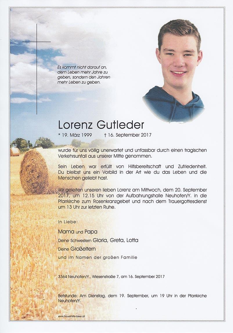 Lorenz Gutleder