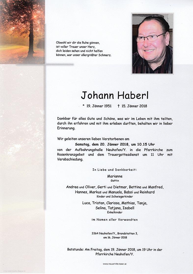 Johann Haberl