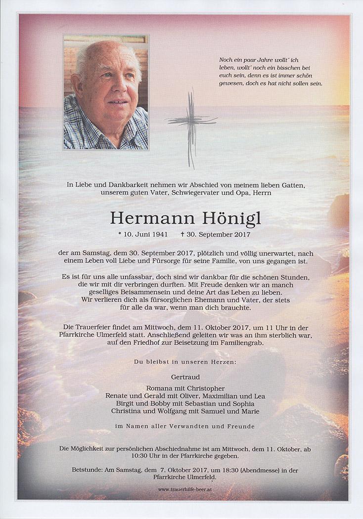 Hermann Hönigl