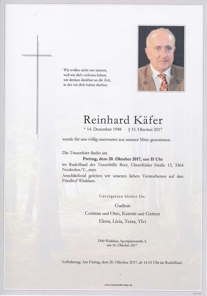 Reinhard Käfer