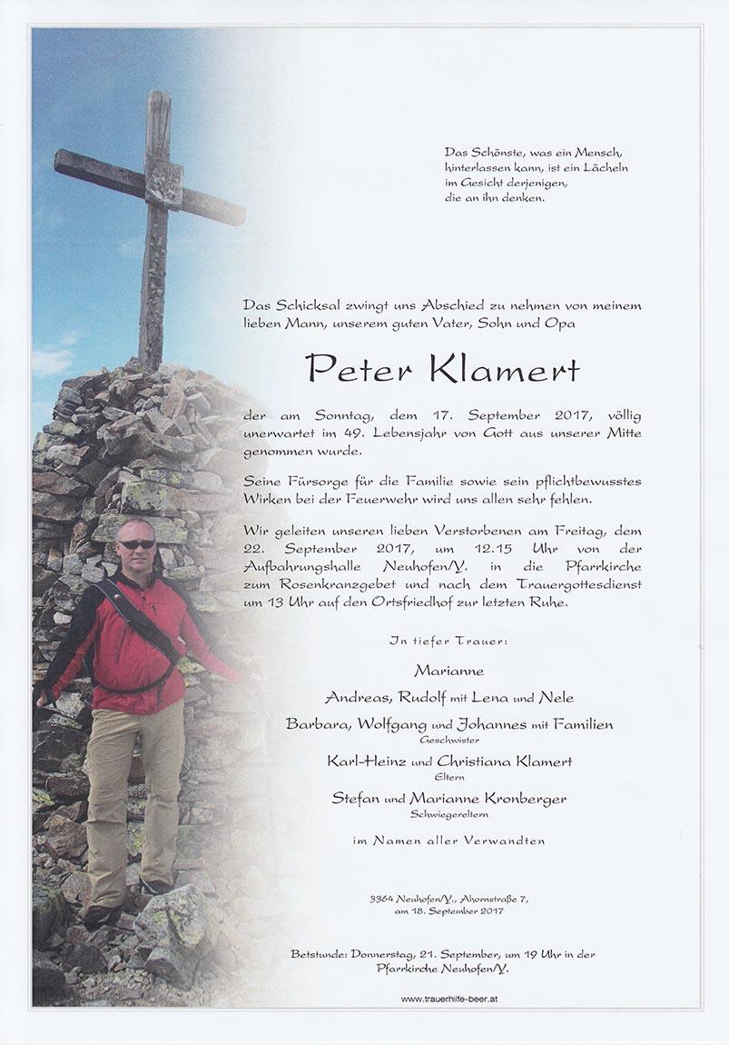 Peter Klamert