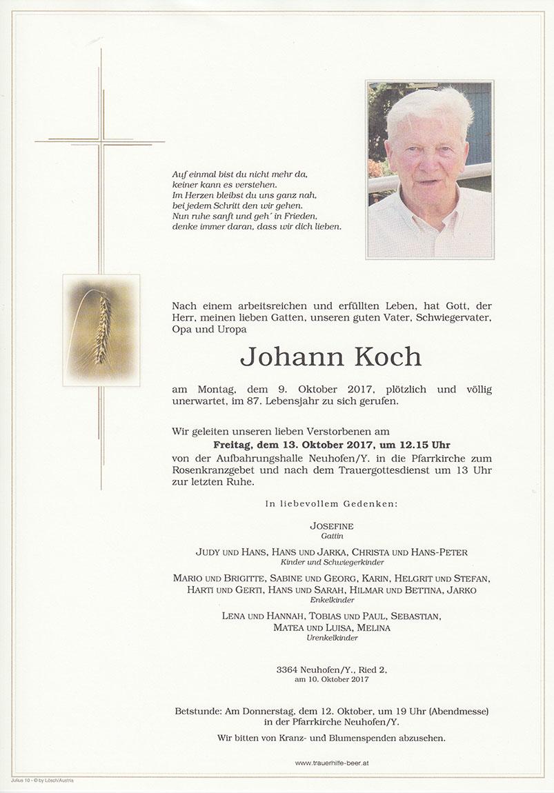Johann Koch