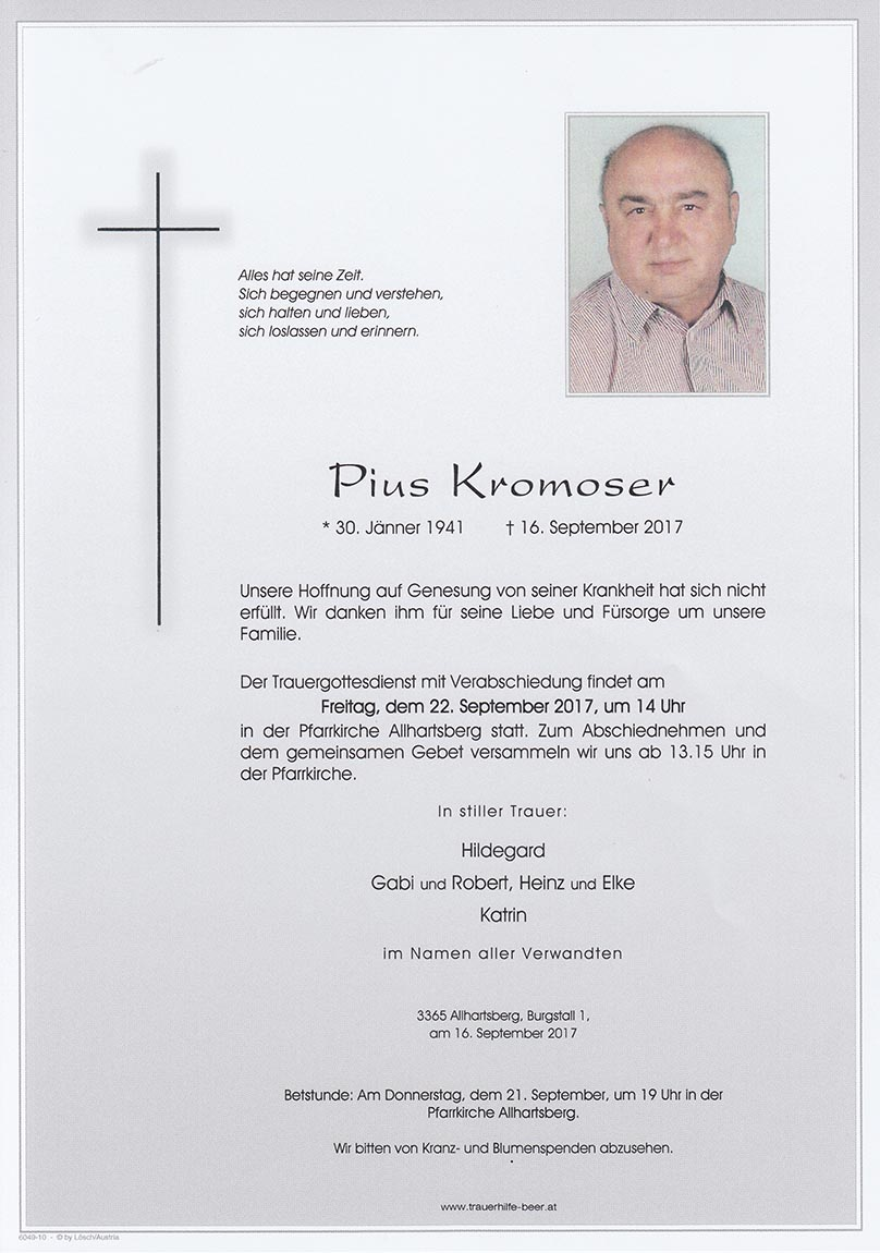Pius Kromoser
