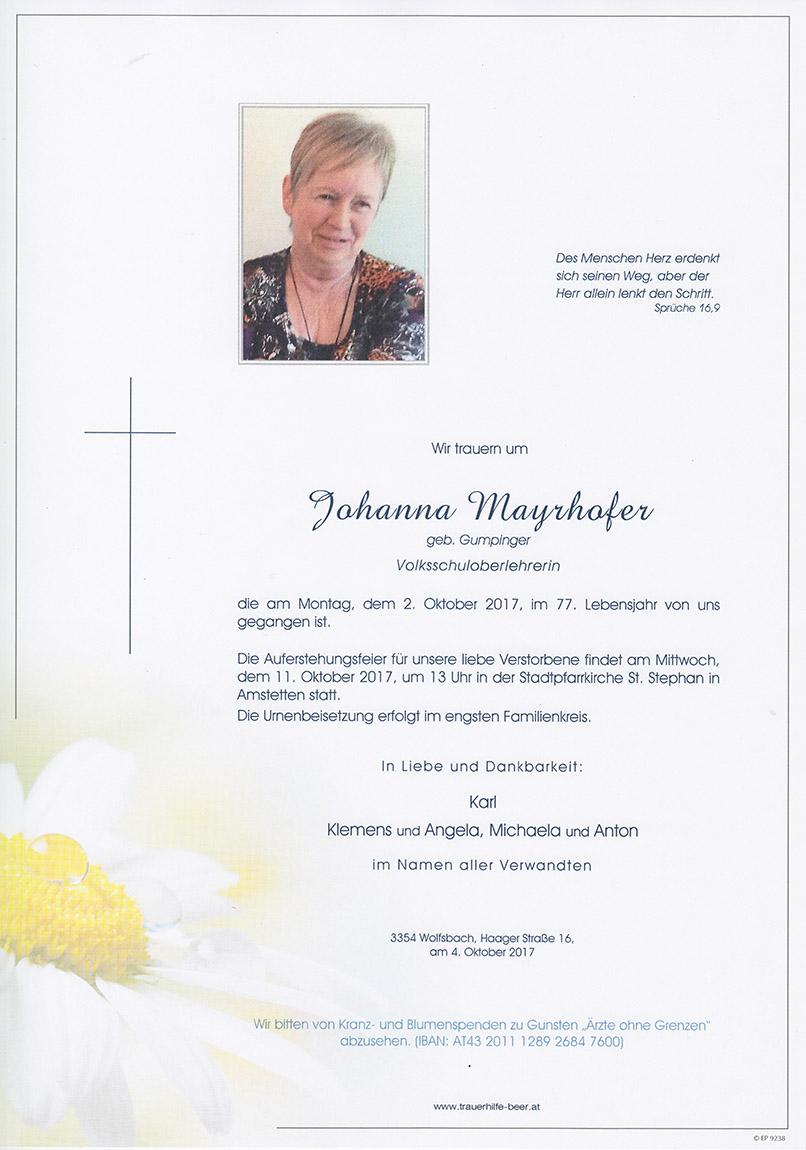 Johanna Mayrhofer